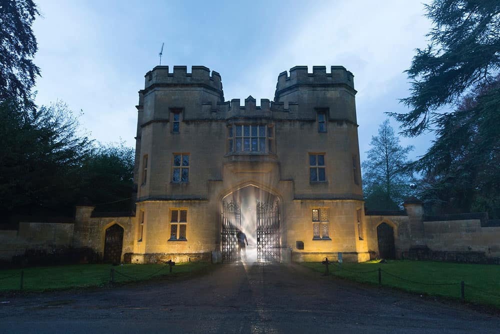 2016 Sudeley Castle Spectacle of Light - pre production 2