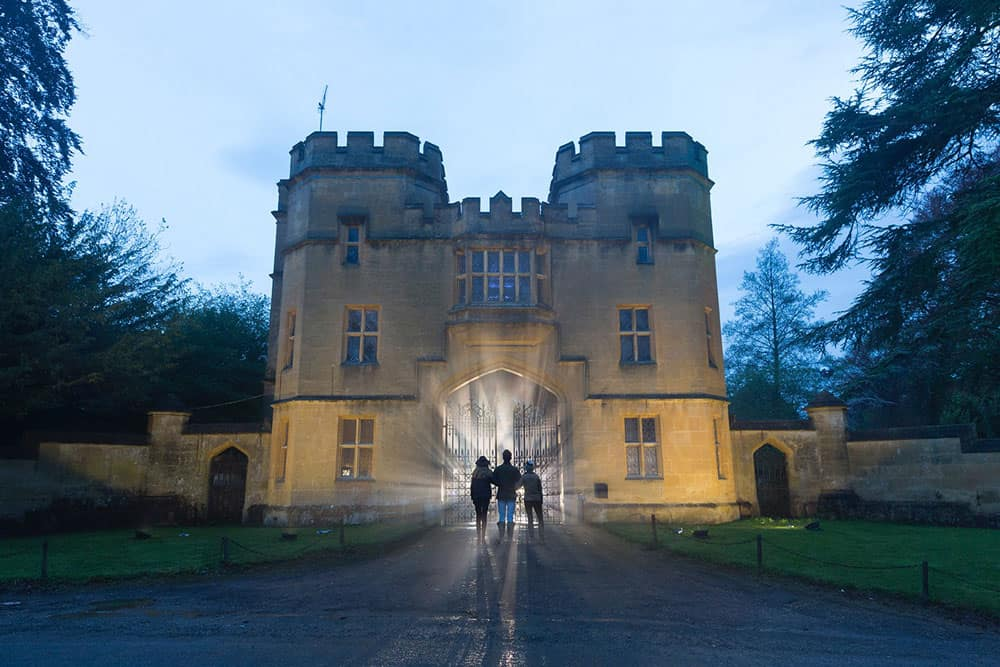 2016 Sudeley Castle Spectacle of Light - pre production 3