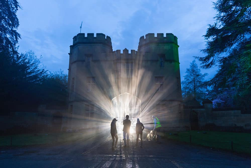 2016 Sudeley Castle Spectacle of Light - pre production 4