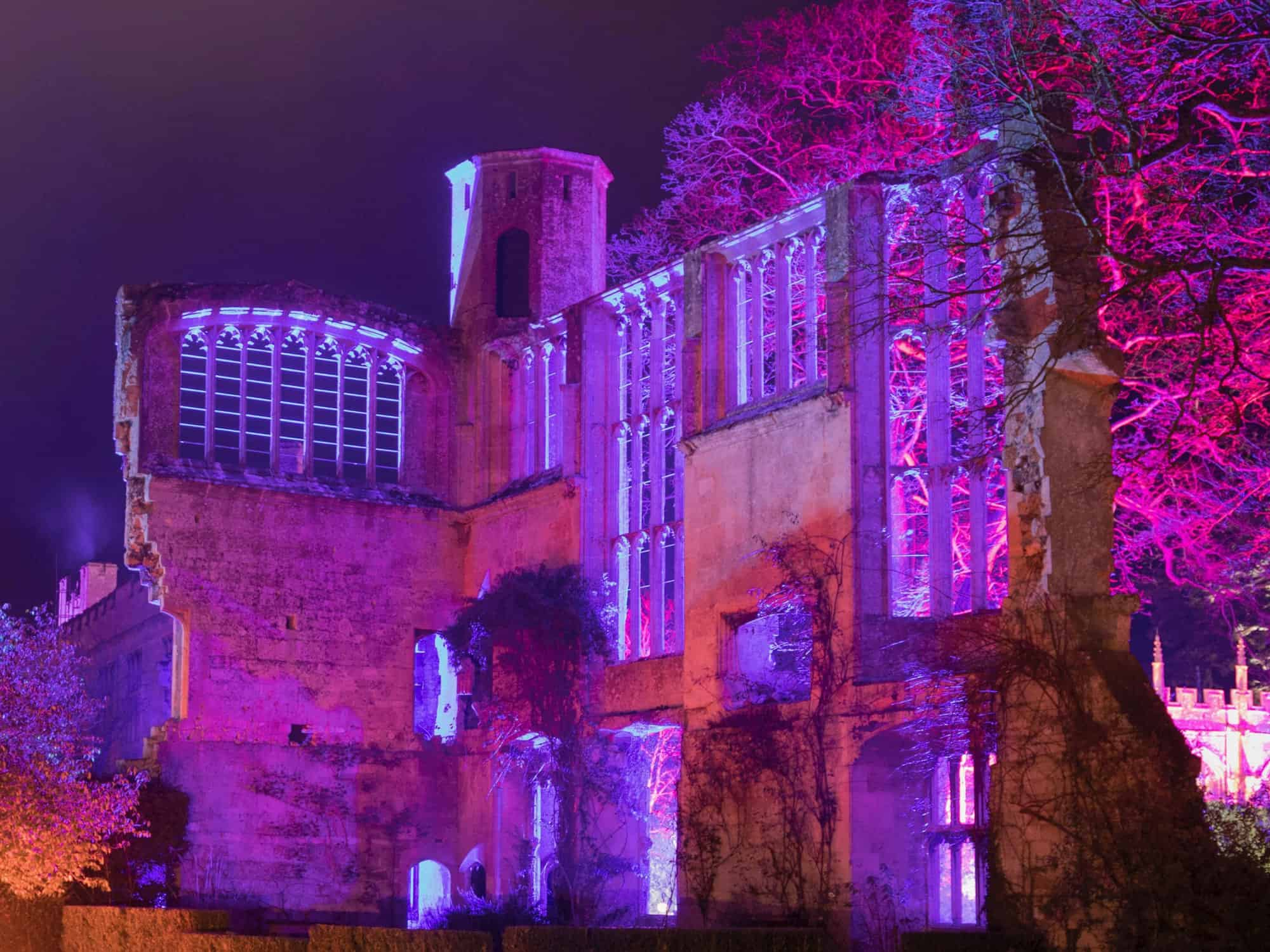 2017 Sudeley Castle Spectacle of Light Photo Gallery 4