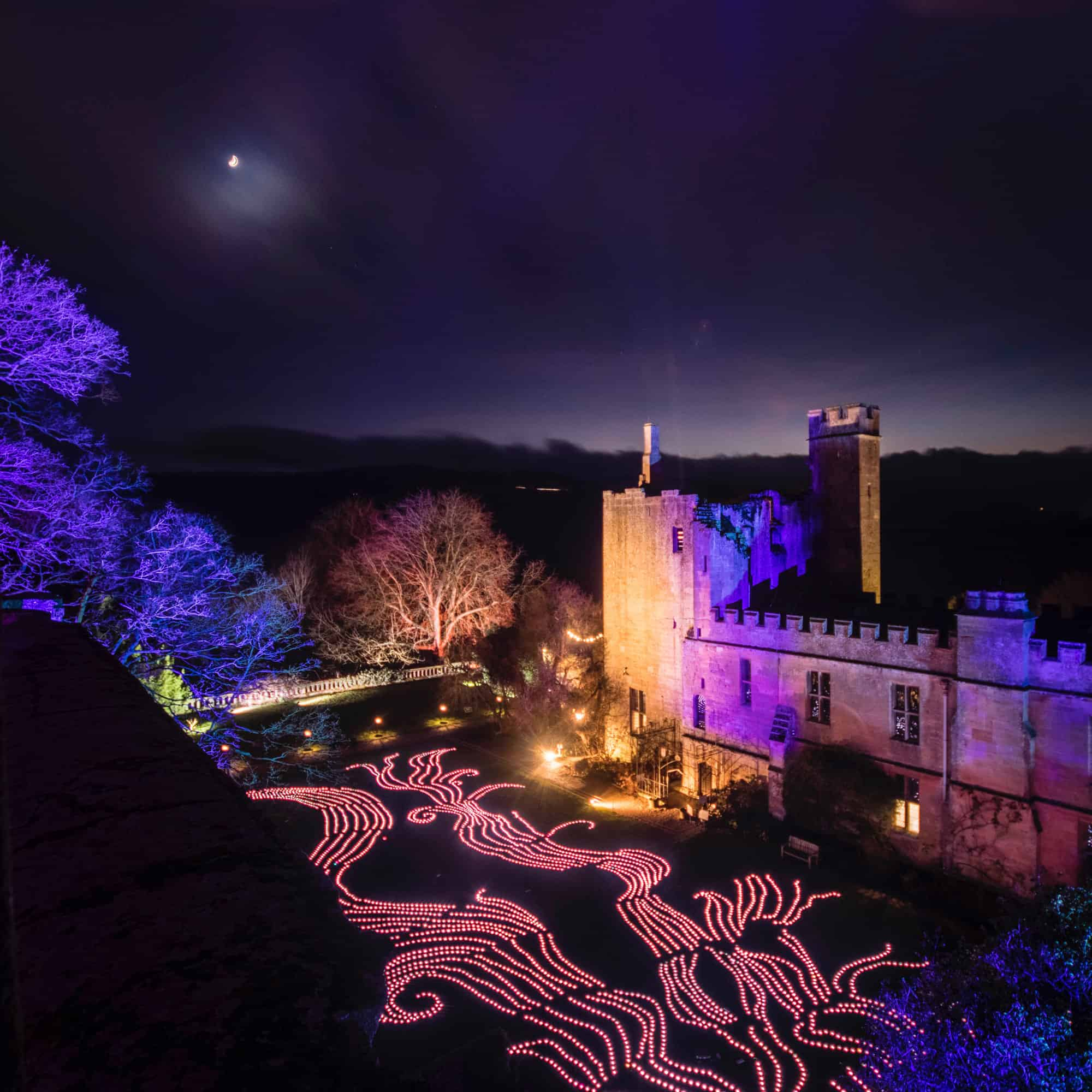 2017 Sudeley Castle Spectacle of Light Photo Gallery 5