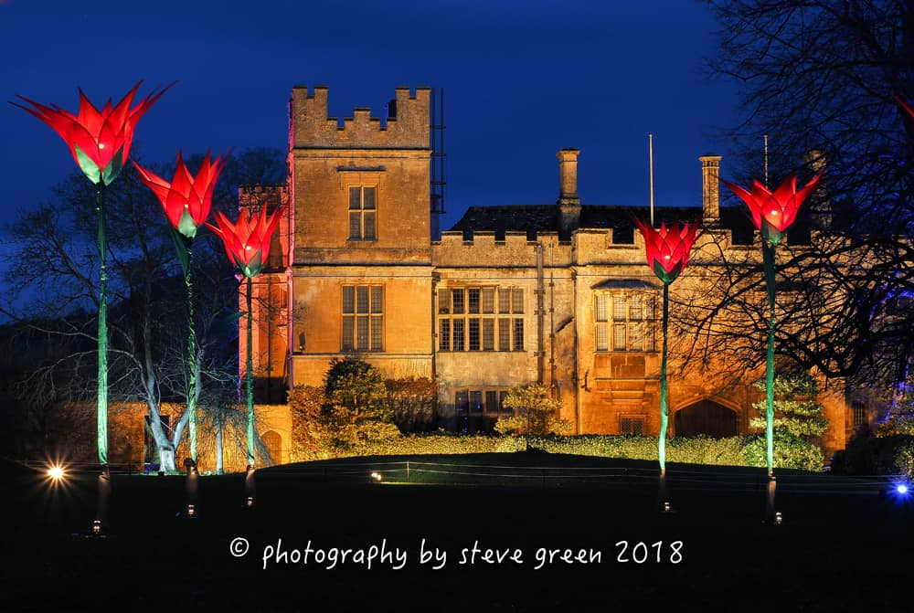 2018 Sudeley Castle Spectacle of Light Photo Gallery 1