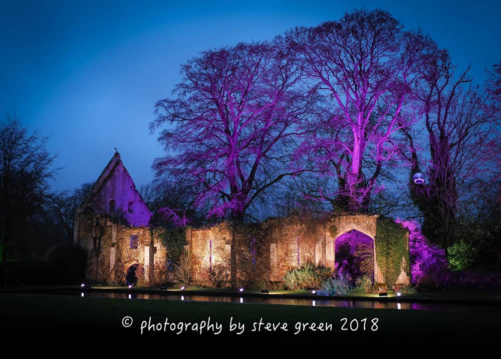 2018 Sudeley Castle Spectacle of Light Photo Gallery 2