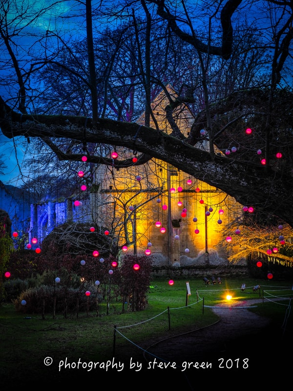 2018 Sudeley Castle Spectacle of Light Photo Gallery 3