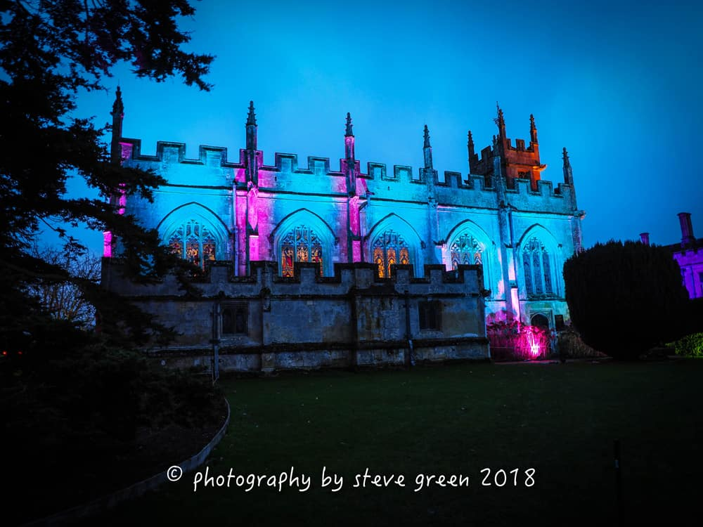 2018 Sudeley Castle Spectacle of Light Photo Gallery 4