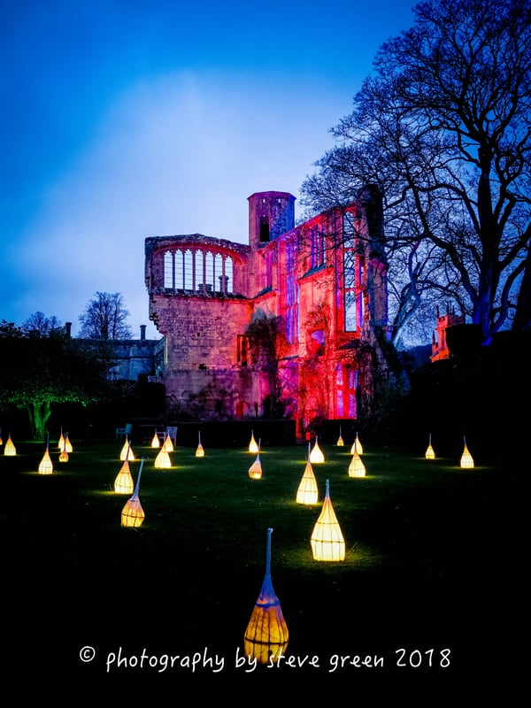 2018 Sudeley Castle Spectacle of Light Photo Gallery 5