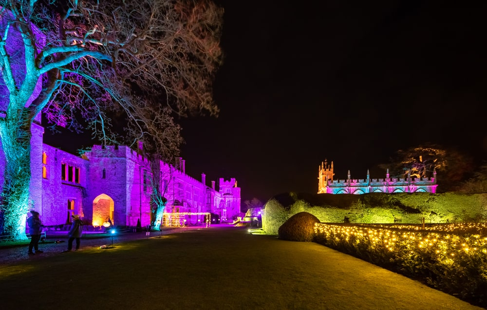 2018 Sudeley Castle Spectacle of Light Photo Gallery 14