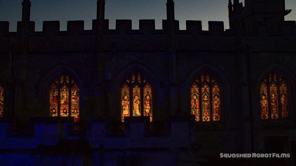 2016 Sudeley Castle Spectacle of Light - Squashed Robot Films 1