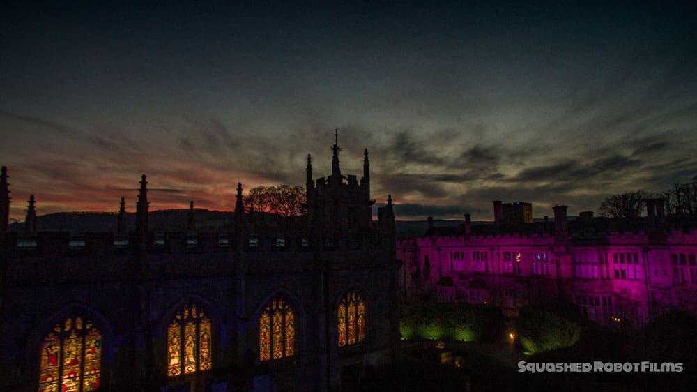 2016 Sudeley Castle Spectacle of Light - Squashed Robot Films 2