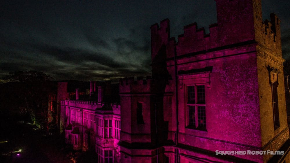 2016 Sudeley Castle Spectacle of Light - Squashed Robot Films 3