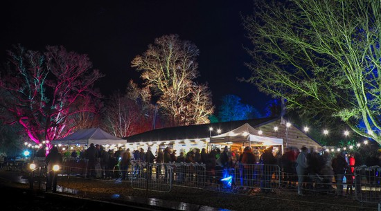 Enjoy festive food and cheer at the Spectacle of Light