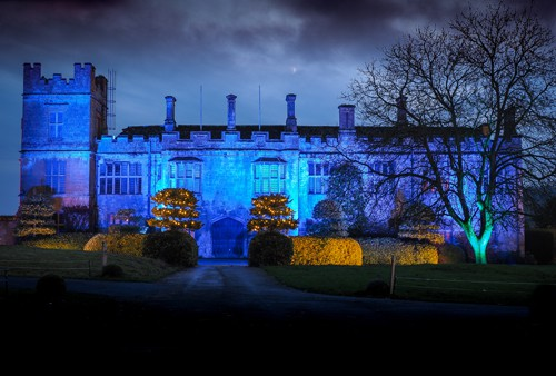 Spectacle of Light 2019 Peter Pan at Sudeley Castle Illuminated