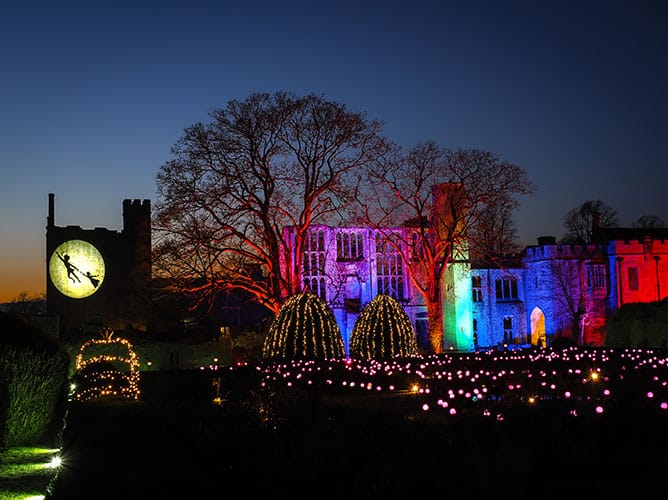 Copyright Steve Green Photography - Spectacle of Light Sudeley Castle 2019 - Peter Pan
