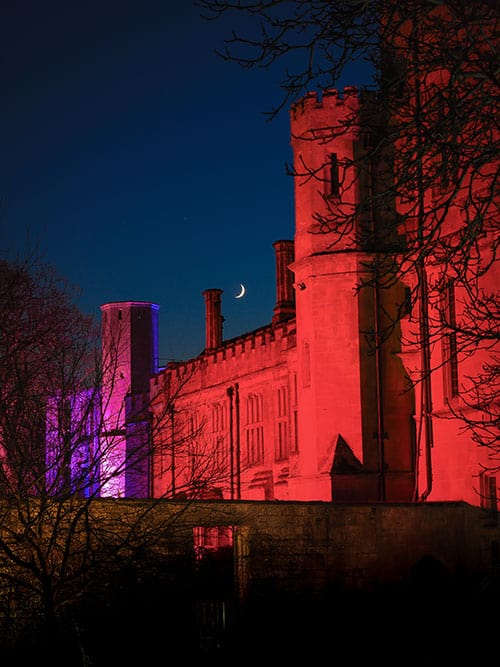 Copyright Steve Green Photography - Spectacle of Light Sudeley Castle 2019