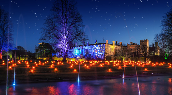 Sudeley Castle Spectacle of Light new and exciting for 2021